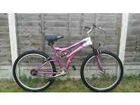 """Ladies 26"""" wheel single speed bike"""