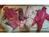 Large 9-12 month girl bundle - 68 items