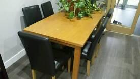 Oak table only
