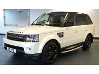 2012 62 LAND ROVER RANGE ROVER SPORT 3.0 SDV6 HSE LUXURY *PART EX WELCOME*FINANCE AVAILABLE*WARRANTY