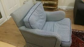 Very Good Condition Stylish Single Seat Armchair Sofa Arm Chair Quality going almost Free