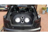 FLI TWIN ACTIVE 12 Inch 2400 Watt Subwoofer Enclousure With Built in Amp