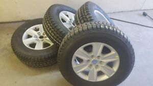 Brand new F150 6 bolt rims and winter tires