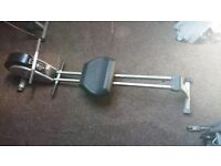 Rowing machine, good condition with moniter to measure distance and calories.