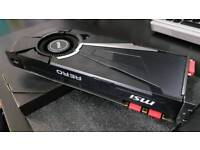MSI GeForce GTX 1070 AERO OC Graphics Card