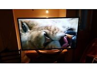 47' LED LG 3D smart tv with freeview, bargain!