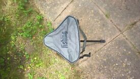 small fishing stool with bag