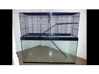 Large rodent/ hamster/ gerbil cage/ tank