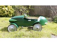 Pedal Car 1930's Le Mans style.
