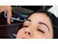 THREADING AND BEAUTY