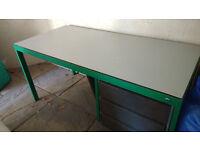FREE Desk & Metal Trolley