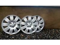 """Focus wheel trims 15"""""""