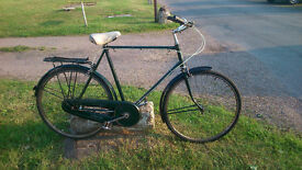 classic raleigh gents bicycle