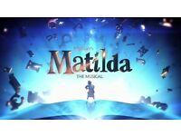 Matilda the musical (sat 20th may 2.30pm)