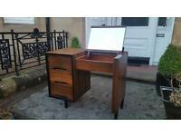 Vintage retro desk / dressing table