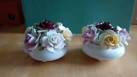 Royal Doulton flower bowls