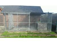 Galvanised Dog run for sale