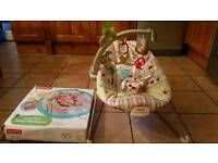 Mothercare Fisher Price Bouncer chair cost £50 new. Vgc. bouncy seat musical and vibrates