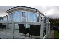 2012 Willerby New Hampton 38 x12 two bedroom static caravan, Anglesey.