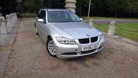 BMW 3 ESTATE 2.0 TURBODIESEL WITH FULL YEAR MOT IN VERY GOOD CONDITION