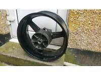 R1 5JJ rear wheel stright