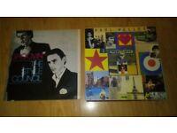 26 x paul weller vinyls / signed song sheet / large tour sign /framed disc