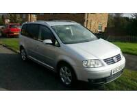 2003 VOLKSWAGEN TOURAN 2.0 TDI SPORT, 7 SEATER, ALL PREVIOUS MOTS, GOOD FAMILY CAR, HPI CLEAR