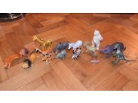 EARLY LEARNING CENTRE BUNDLE OF JUNGLE & MIXED ANIMALS + DINOSAURS FIGURES
