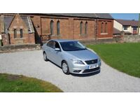 13 REG SEAT TOLEDO 1.6 TDI CR SE SILVER 5DR 1-OWNER FSH OUTSTANDING FREE-DELIVERY CHEAP CAR EXPORT