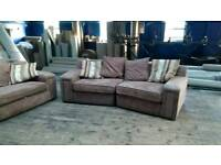 Two large sofa's