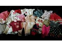 Girls 9-12 months summer clothes bundle