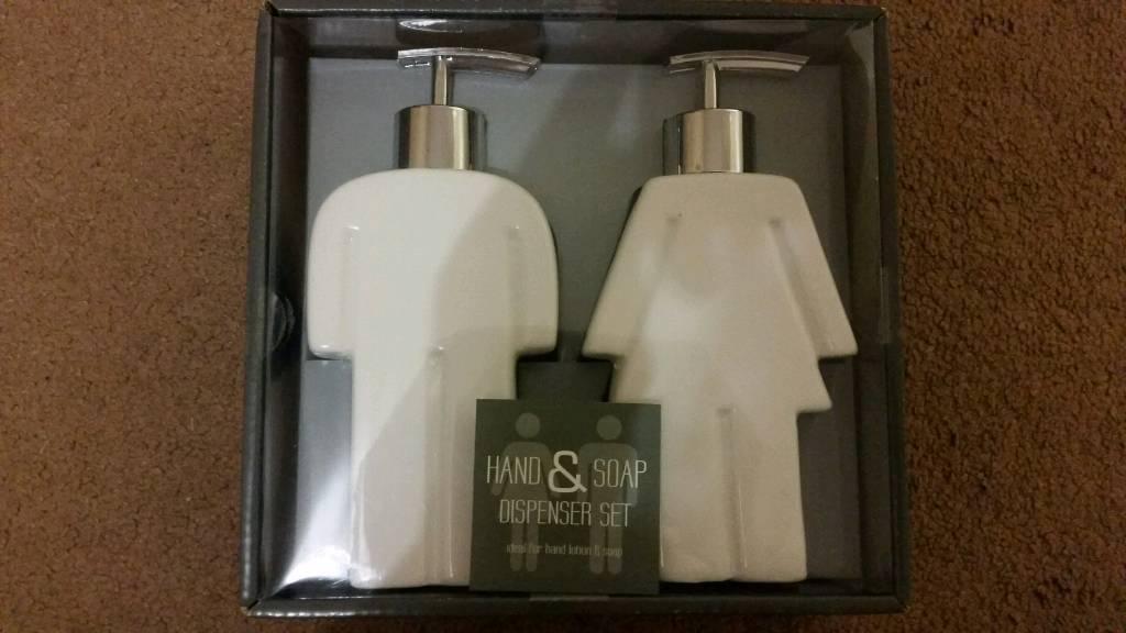 Hand & Soap Dispenser Set BNIB