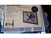Sandstrom 16-32 inch easy glide full motion tv mount