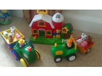 Little Tikes Tractor & john lewis tractor & barn