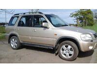 Honda crv mk1 auto, low mileage, mot 1 year, 4x4