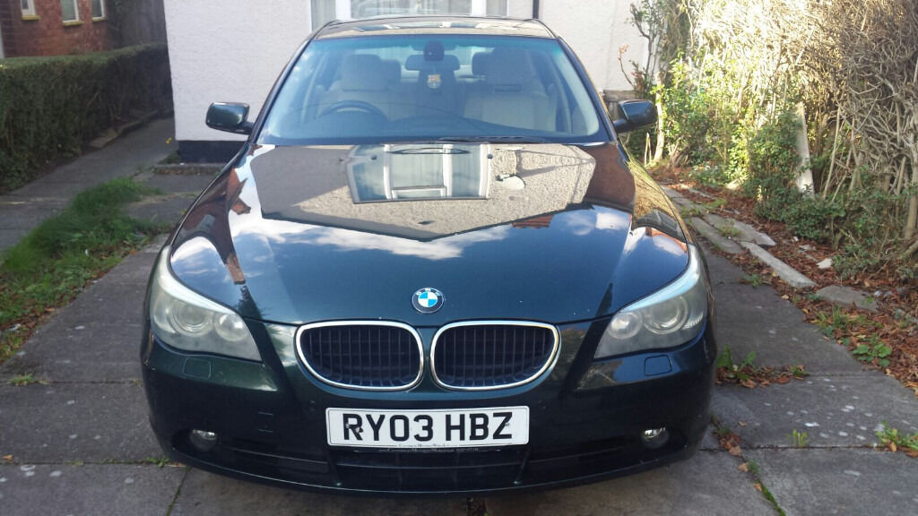 BMW 5 series Automatic GasKit Car for sale, In Excellent Condition, Well Maintained & Looked after