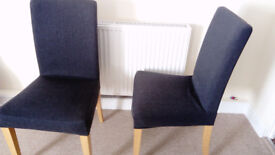 Dining Chairs, set of 2, IKEA Henriksdal, mint condition
