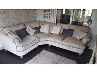 Large Corner Sofa (Fabric)