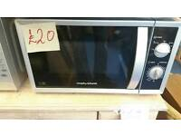Morphy Richards 800w Microwave oven