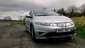 08 Honda Civic Type S i-vtec 1.8 Petrol, low miles, great condition, good mpg
