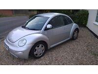 VW BEETLE 1.9 DIESEL 2002 100,000 MILES EXCELLENT CAR FULL MOT NO ADVISORY'S