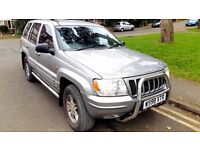 Jeep GRAND CHEROKEE diesel Automatic LOW MILEAGE 12month MOT