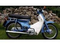 Honda C90 Cub90 Cub 1994 Blue LOW LOW MILES only 2000 from new