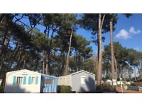 Holiday France Vendee September October Break Mobile Home