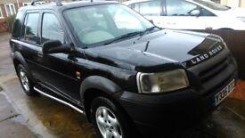 2001 1.8 Land Rover FREELANDER ES 1.8 petrol, MOT, manual, leather interior