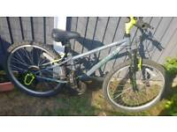 24 inch boys bike dual suspension