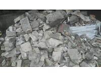Free rubble