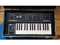 Roland SH 09 Analogue Synthesizer Rare Exceptional Original Condition