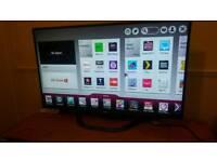 "LG 47"" FHD cinema 3D smart TV"