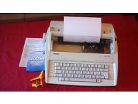 BROTHER AX-100 ELECTRONIC TYPEWRITER